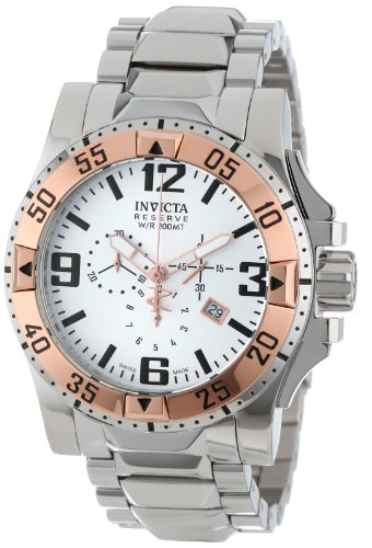 インビクタ 時計 インヴィクタ メンズ 腕時計 Invicta Men's 14041 Excursion Reserve Chronograph Silver Dial Stainless Steel Watch