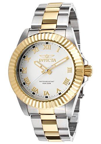 インビクタ 時計 インヴィクタ メンズ 腕時計 Invicta Men's Pro Diver Two-Tone Stainless Steel White Dial