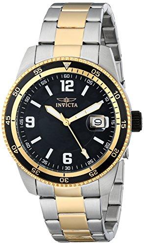 インビクタ 時計 インヴィクタ メンズ 腕時計 Invicta Men's 14120 Pro Diver Automatic Black Dial Two Tone Stainless Steel Watch