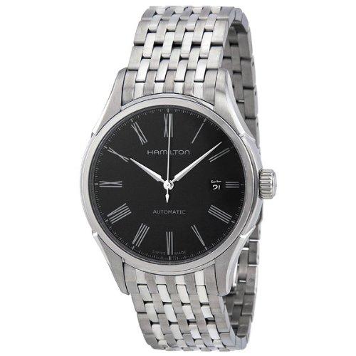 大特集 ハミルトン メンズ 腕時計 Hamillton Valiant Black Dial Stainless Steel Mens Watch H39515134