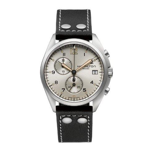 ハミルトン カーキ メンズ 腕時計 Hamilton Men's H76512755 Khaki Aviation Analog Display Quartz Black Watch
