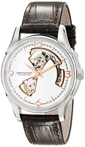 ハミルトン ジャズマスター メンズ 腕時計 Hamilton Men's H32565555 Jazzmaster Silver Dial Watch