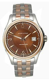 ハミルトン ジャズマスター ビューマチック メンズ 腕時計 Hamilton Jazzmaster Viewmatic Brown Dial Men's watch #H32655195