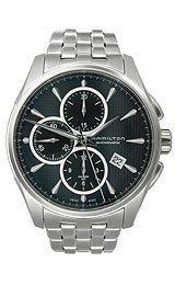 ハミルトン ジャズマスター メンズ 腕時計 Hamilton JazzMaster Auto Chrono Stainless Steel Men's watch #H32596131