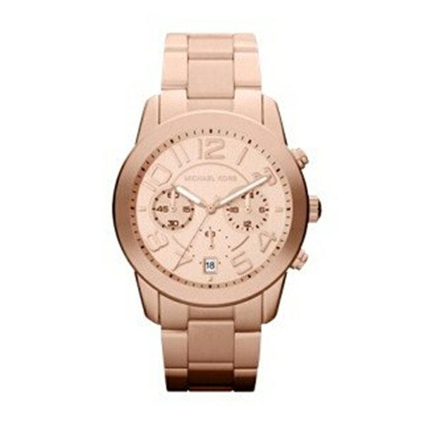 マイケルコース Michael Kors メンズ 腕時計 時計 Michael Kors Rose Gold-Tone Mercer Watch