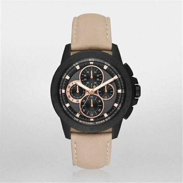マイケルコース Michael Kors メンズ 腕時計 時計 Michael Kors Men's Ryker Black Watch MK8520