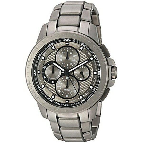 マイケルコース Michael Kors メンズ 腕時計 時計 Michael Kors Men's Ryker Grey Watch MK8530