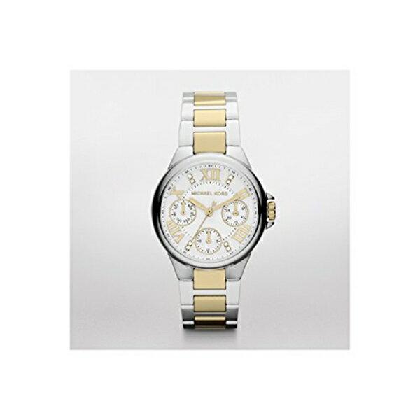 マイケルコース Michael Kors レディース 腕時計 時計 Michael Kors Camille Silver-Tone Multifunction Watch