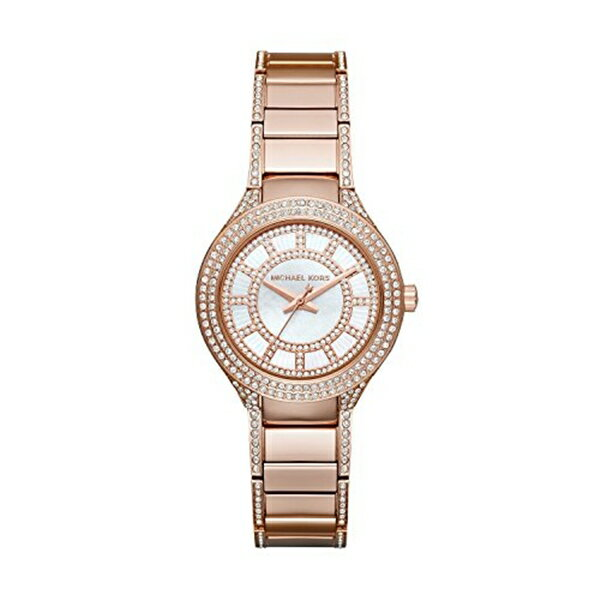 マイケルコース Michael Kors レディース 腕時計 時計 Michael Kors Women's Mini Kerry Rose Gold-Tone Watch MK3443