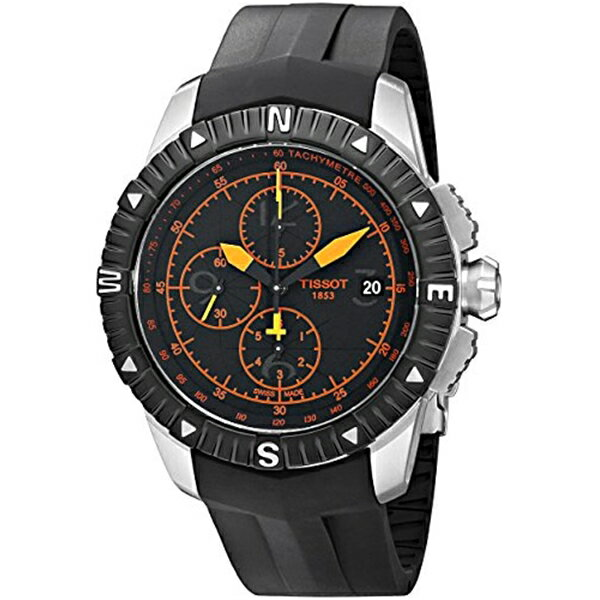 ティソ Tissot 腕時計 メンズ 時計 Tissot Men's T0624271705701 T-Navigator Swiss Automatic Chronograph Watch