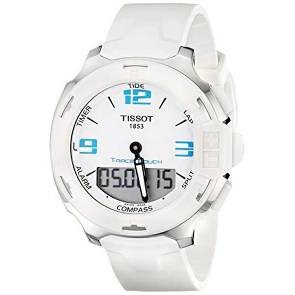 ティソ Tissot 腕時計 メンズ 時計 Tissot Men's T0814201701701 Analog Display Quartz White Watch