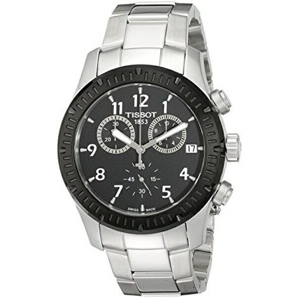 ティソ Tissot 腕時計 メンズ 時計 Tissot V8 Chronograph Mens Watch - Stainless Steel