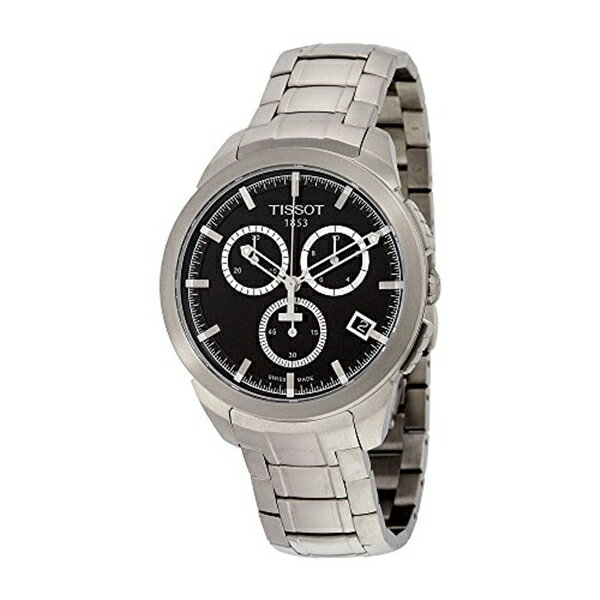ティソ Tissot 腕時計 メンズ 時計 Tissot Men's T0694174405100 Analog Display Swiss Quartz Silver Watch