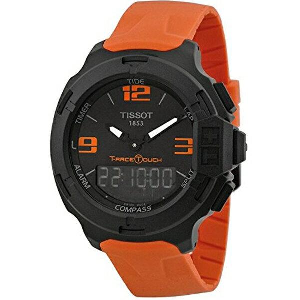 ティソ Tissot 腕時計 メンズ 時計 Tissot T0814209705702 T-Race Touch Aluminium Mens Watch