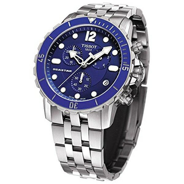ティソ Tissot 腕時計 メンズ 時計 Tissot Seastar 100 Quartz T066.417.11.047.00