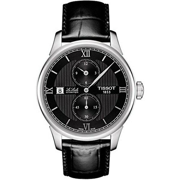 ティソ Tissot 腕時計 メンズ 時計 Tissot Le Locle Automatic Black Dial Mens Watch T006.428.16.058.02