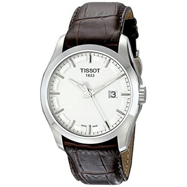 新発売 ティソ Tissot 腕時計 メンズ 時計 TISSOT watch T-Trend COUTURIER couturier quartz T0354101603100 Men's