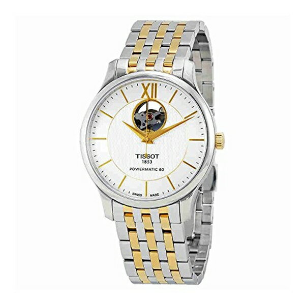 ティソ Tissot 腕時計 メンズ 時計 Tissot Tradition Powermatic 80 Automatic Mens Watch T063.907.22.038.00