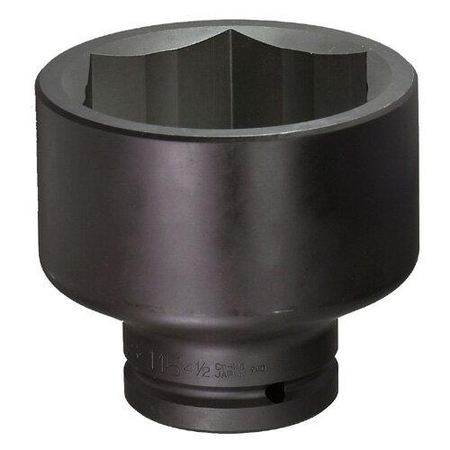 FPC 1.1/2WS-80(3.3/16) インパクト ショート ソケット 差込角 38.1mm 対辺 80mm (3.3/16)