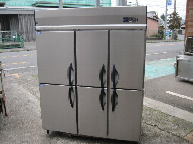 2014年製 【中古】【大和冷機】縦型冷凍冷蔵庫 523S2-EC◎ 2冷凍4冷蔵  三相200V ヤマチュー6ヶ月保証