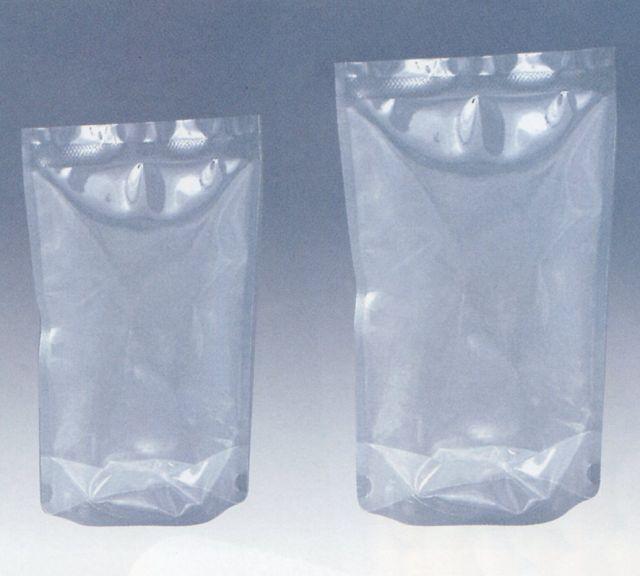 ナイロンスタンド袋 M-1425S(2,000枚) 140×250+41mm 【本州/四国/九州は送料無料】明和産商