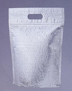 CHB-11 チャック付スタンド保冷袋【S】サイズ220×285+底60mm(350枚)【本州/四国/九州は送料無料】