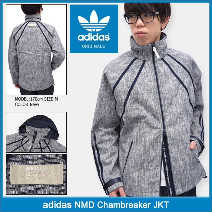 アディダス adidas ジャケット メンズ NMD シャンブレーカー オリジナルス(adidas NMD Chambreaker JKT Originals JACKET JAKET アウター ジャンパー・ブルゾン 男性用 BK2216) ice filed icefield