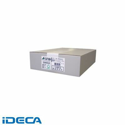 JS66993 ラベルシール[レーザープリンタ] A4 18面 四辺余白付 角丸 500シート入
