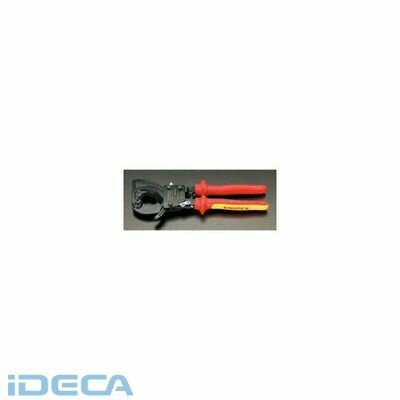 【キャンセル不可】CU80532 32mm [1000V]絶縁ラチェットケーブルカッター