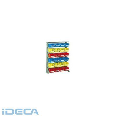 JM74558 「直送」【代引不可・他メーカー同梱不可】 片面タイプ重量コンテナラック高さ1265大棚6