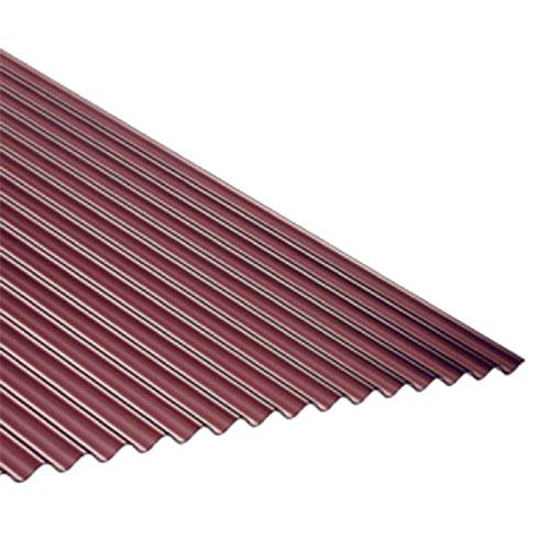 (20枚入) タキロン ポリカ波板 4810熱線カットブロンズ 7尺 2120×655×0.7mm ※メーカー直送品