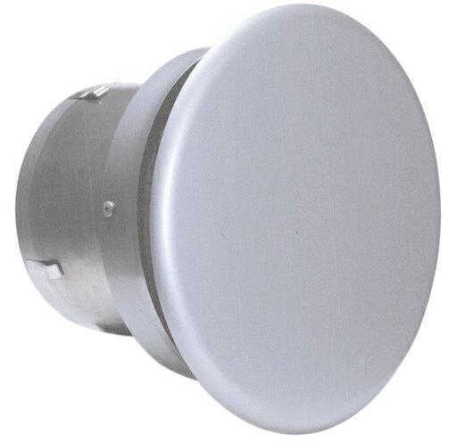 西邦工業 SEIHO SNBD175TSC 外壁用ステンレス製換気口 (フラットカバー付換気口) 金網型3メッシュ 水切り付 フラットカバー付 耐外風 防火ダンパー付