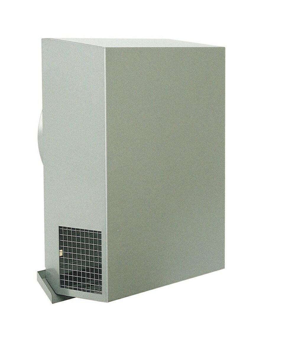 西邦工業 SEIHO KKN150YMS 外壁用ステンレス製換気口 (パイプフード) 金網型3メッシュ ワイド水切付