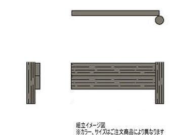 タカショー PG-D306WT ワンダーウッド土留め 追加型 H600×W1550 H600×W1550mm