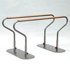 ヤザキ 矢崎化工 おくだけシリーズ 手すり平行棒 木製グリップ CKD-01