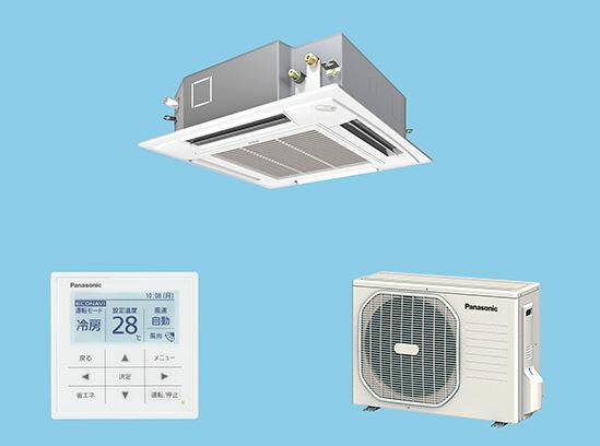 ##パナソニック 業務用エアコン【PA-P40U4SXN】Xシリーズ 4方向天井カセット形 冷暖房 シングル 標準 単相200V