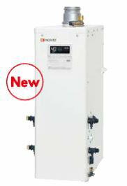 ノーリツ 石油ふろ給湯器【OTQ-4705AF】(リモコン付) 設置フリー型 フルオート 直圧 角(上方排気) 屋内・屋外兼用据置形 (旧品番OTQ-4704AF)