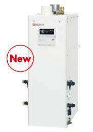 ノーリツ 石油ふろ給湯器【OTQ-4705AFF】(リモコン付) 設置フリー型 フルオート 直圧 角(上方給排気) 屋内据置形 (旧品番OTQ-4704AFF)