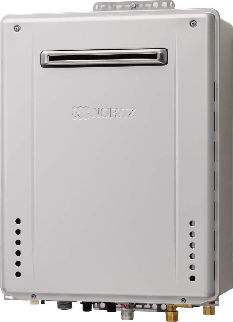 ###♪ノーリツ ガスふろ給湯器【GT-C1662SAWX BL】設置フリー形 エコジョーズ 屋外壁掛型 16号 シンプル(オート)