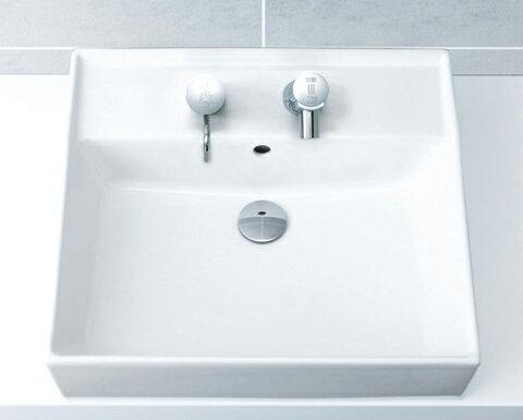 INAX 【L-555FCRS】角形洗面器 (本体のみ)  ベッセル・壁付兼用式