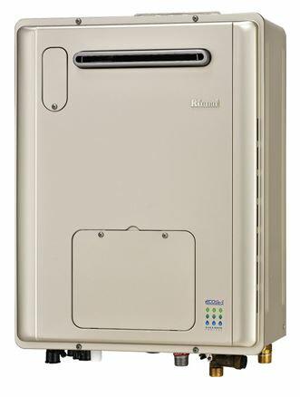リンナイ ガス給湯暖房用熱�機�RVD-E2405AW2-1(A)】屋外�掛型 フルオート エコジョーズ 2-1床暖房4系統熱動�外付 24�