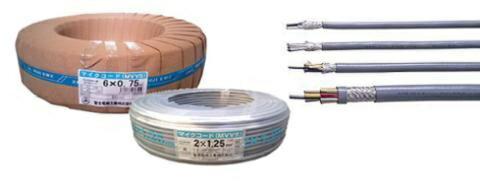 各社 〓 マイクコード(シールド線) 1巻100メートル 〓 MVVS0.3×30芯