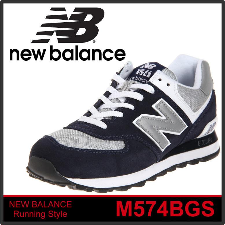 【本物保証】 NEW BALANCE 即日発送 M574BGS ニューバランス メンズスニーカーM574BGS NAVY ネイビー /正規品取扱店舗/あす楽 コンビニ受取対応商品 so1