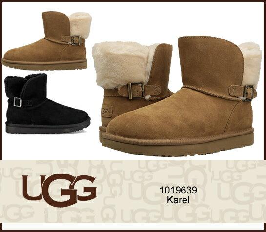 UGG アグ  カレル クラシック ノベルティー  Women's Karel 1019639  CLASSIC NOVELTY 2カラー ムートンブーツ  シープスキン/正規品取扱店舗/ so1