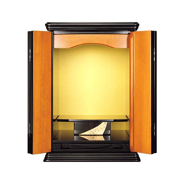 塗りモダン上置 【小春】 四枚戸 モダン仏壇 現代のライフスタイルに合わせた新しい仏壇