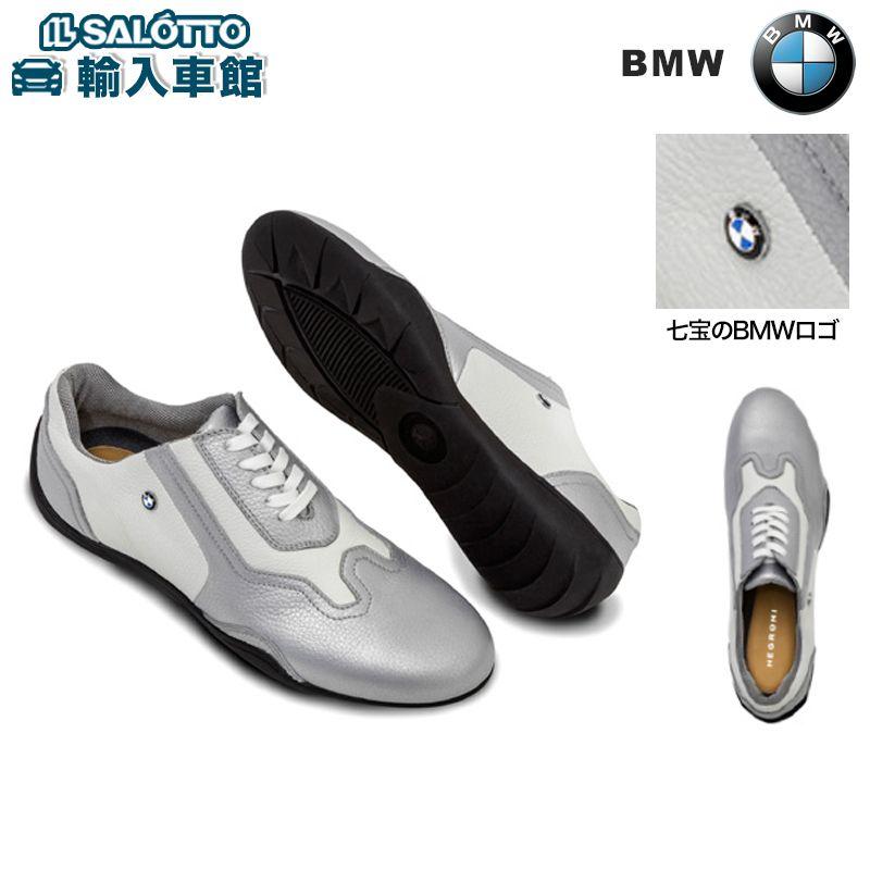 【 BMW 純正 クーポン対象 】 GOMMUS 社製 ドライビングシューズ サイズ:レディース カラー:シルバーストーン 素材:ネグローニレザー 2016-2018 BMW LIFESTYLE