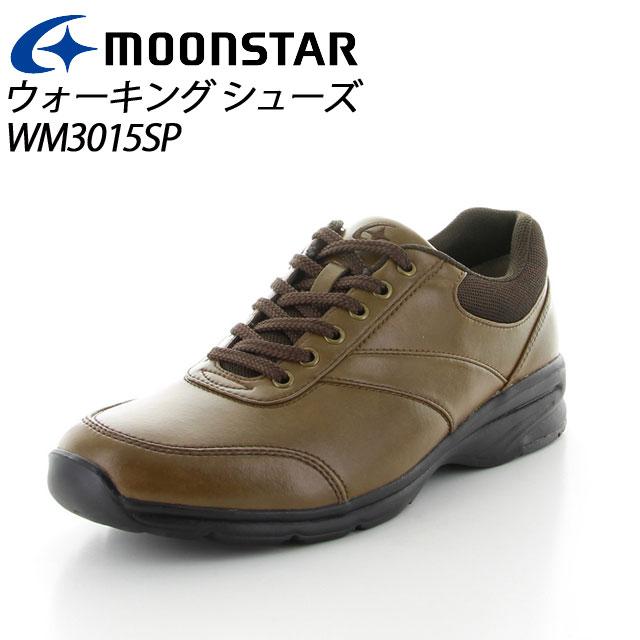 ムーンスター ワールドマーチ メンズ ウォーキング WM3015SP Aキヤメル MS シューズ