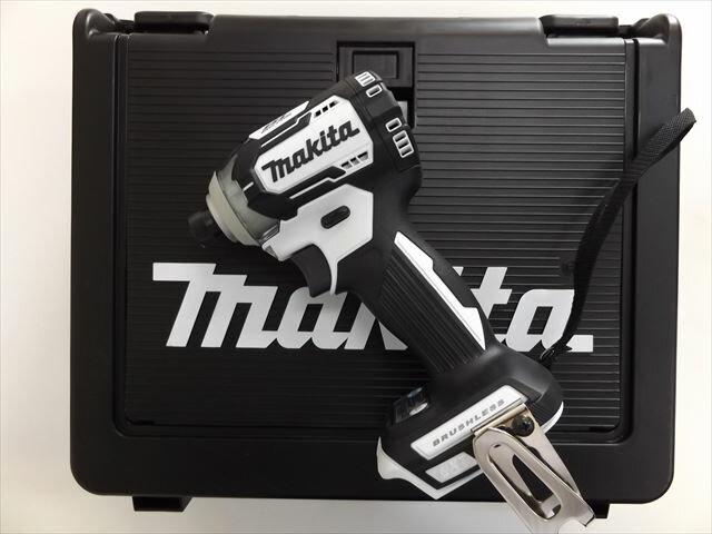 マキタ 18V 充電式インパクトドライバ TD170D 【本体+ケース】 白  ※充電器、バッテリーは別売です。