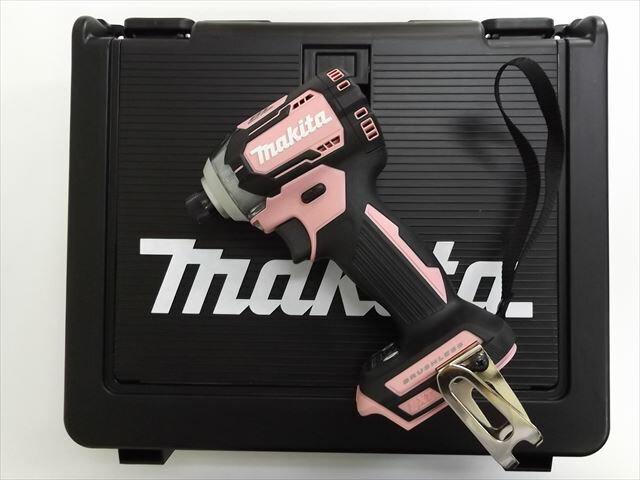 マキタ 14.4V 充電式インパクトドライバ TD160D 【本体+ケース】 ピンク  ※充電器、バッテリーは別売です。