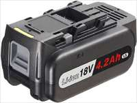 Panasonic 18V4.2Ahリチウムイオン電池パック EZ9L51